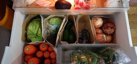 冷蔵庫の収納が見やすい