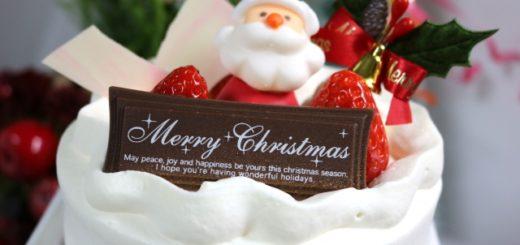 クリスマスケーキプリンパステル